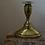 Thumbnail: vintage brass candlestick holders