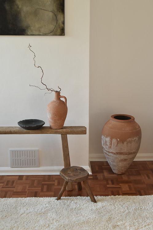 ~Hazan~ antique olive pot urn