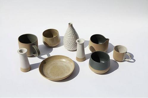 handmade ceramic jugs | Cara Guthrie