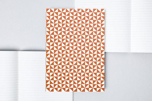 ola notebook in kaffe print