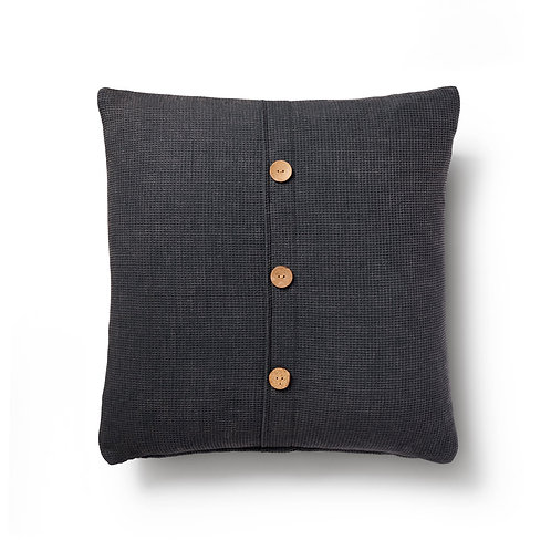 handloomed waffle weave cushion