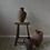 Thumbnail: ~Asya~ antique terracotta twin-handled urn