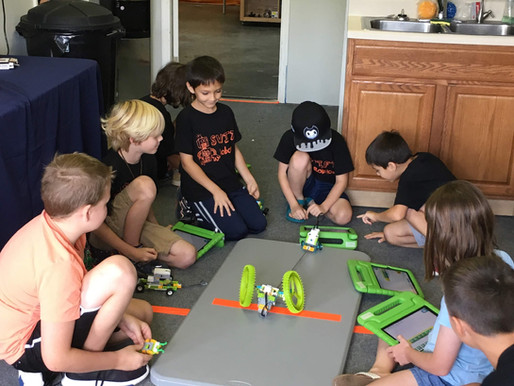 Jr. FLL Summer Camp