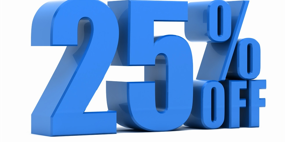 We are offering 25% OFF on your Next SPA Service or CRYO Package!