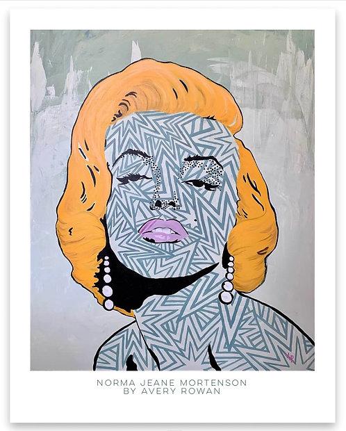 Norma Jeane Mortenson Print