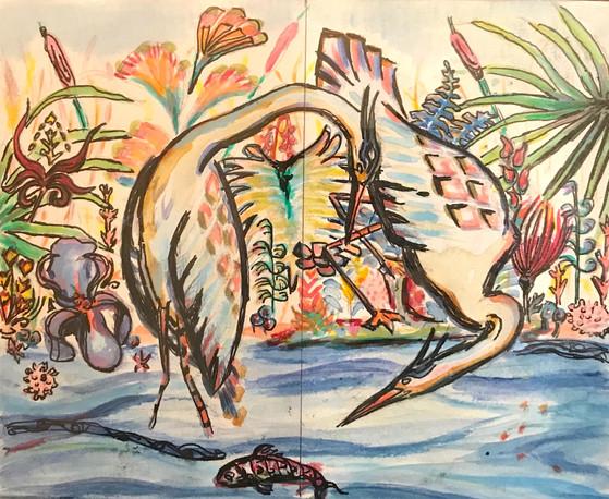 Circle of Life Watercolor