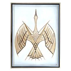 Bird In Flight (Tan)