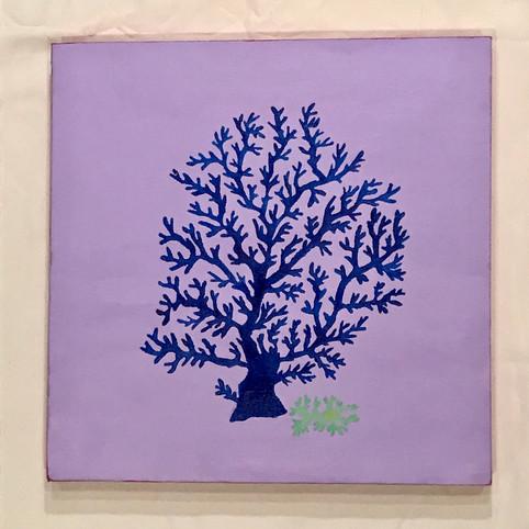 Purple & Blue Coral