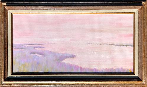 "Pink Marshland 15x30"""