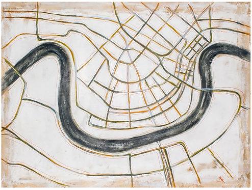 Tan NOLA Map