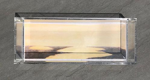 "Wetland Acrylic Box 4x11"""