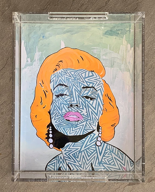 """Norma Jean Art Tray 8.5x11"""""""