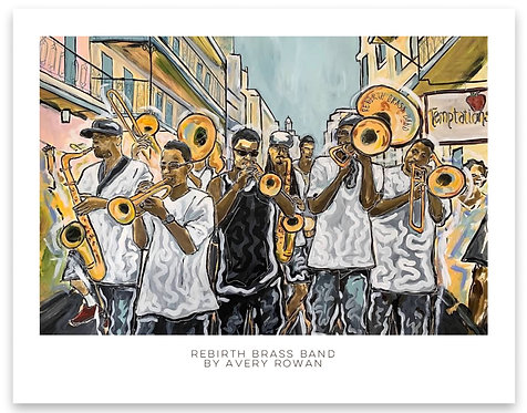 Rebirth Brass Band Print