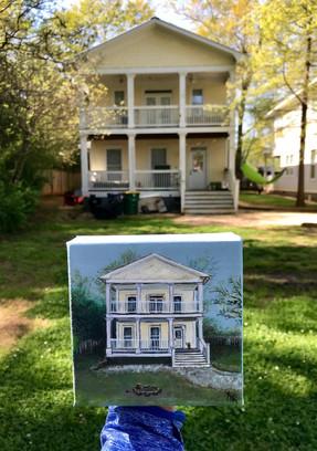 """2x2"""" House Portrait"""