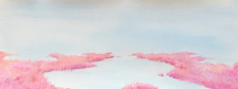 blue & Pink Marshland