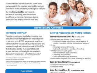 Need Individual Dental and Vision?  We have options!