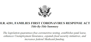 Furlough Versus Protected Employees Under the Families First Coronavirus Response Act