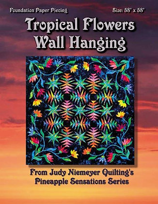 Tropical Flowers Wall Hanging