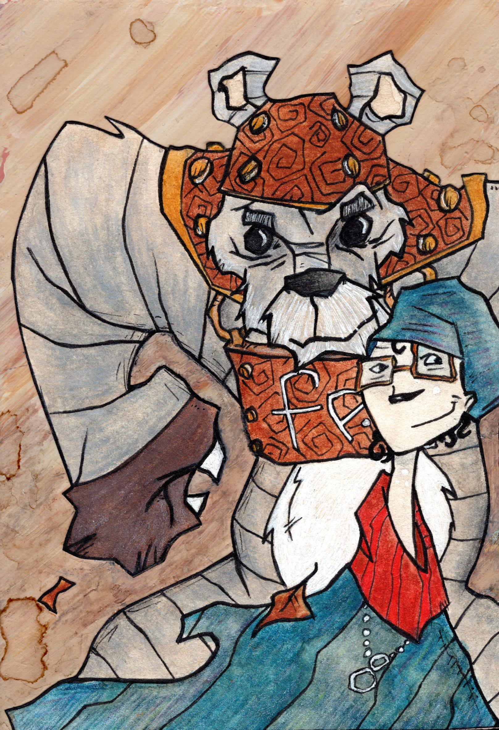 Iron Teddybear and Melanoma Girl