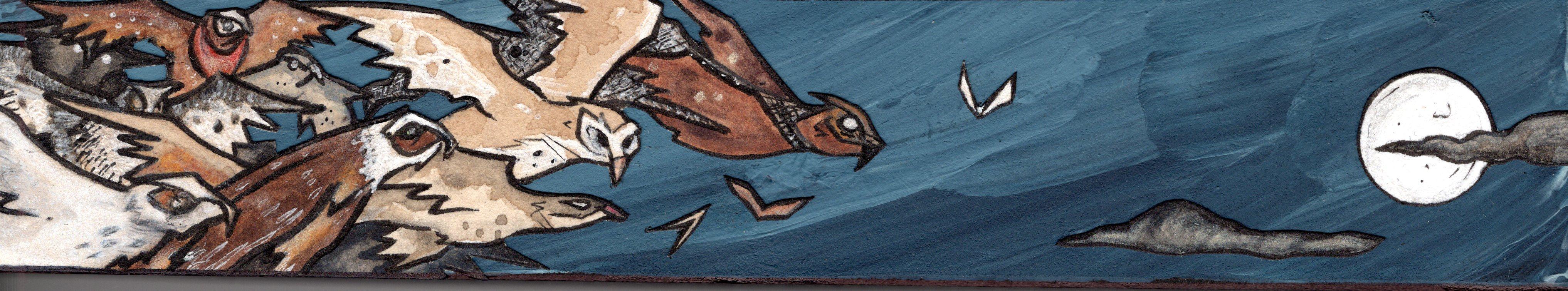 The Owls of Minerva fly at Midnight.