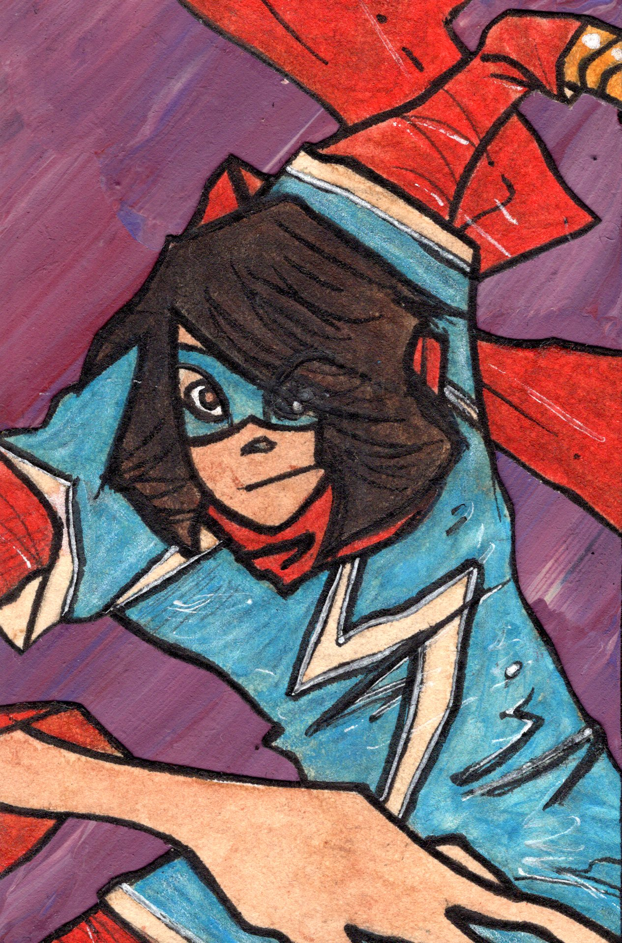 Ms. Marvel.