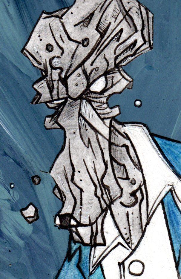 Stugen Dismohn, the Zombie Detective