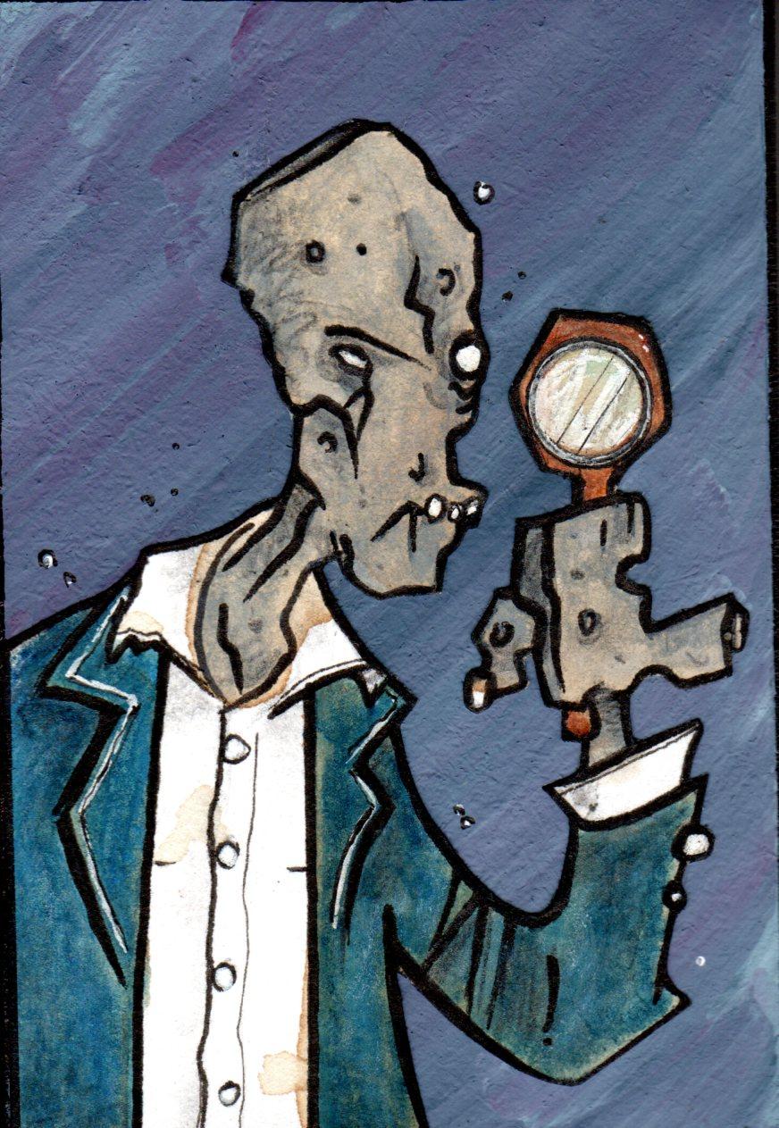 Stugen Dismohn, zombie detective