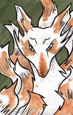 A Kitsune.
