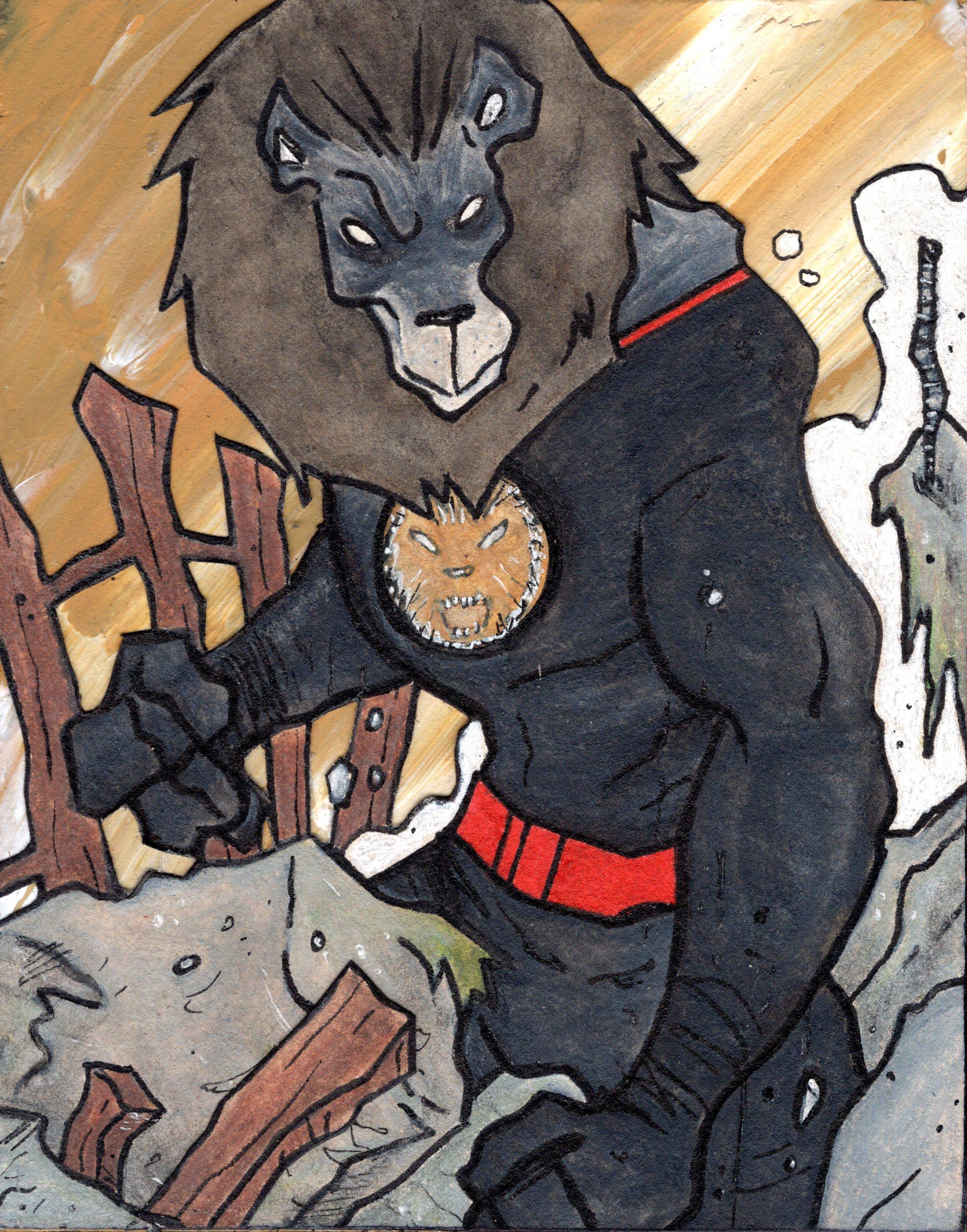 The Black Lion.