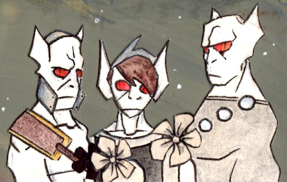 kNox, Punk and kGirth.