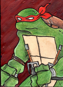 Raphael is cool but rude