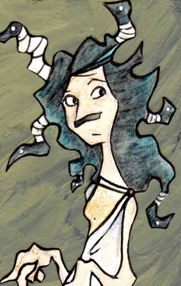 Charlotte the Gorgon.