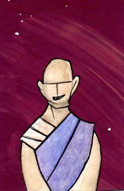 The Hobo Monk.