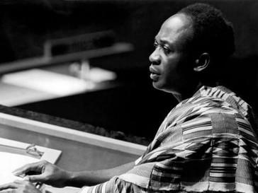 Unis, nous résistons - extrait de discours du Président Kwamé N'Kruma