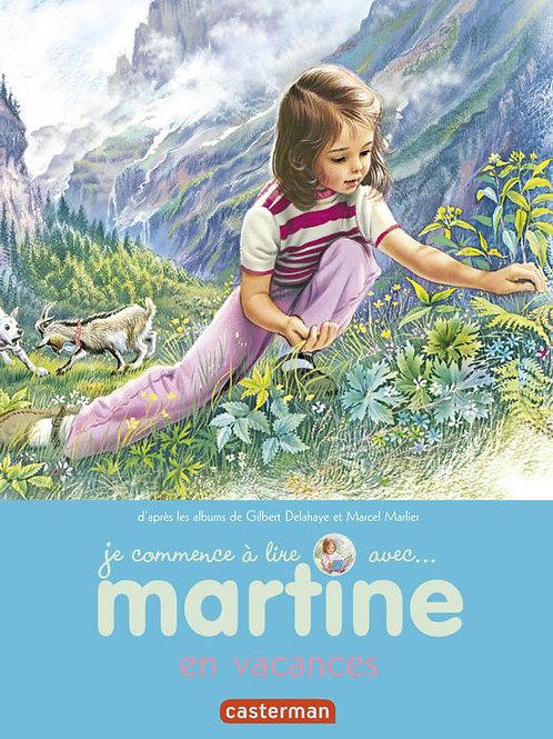 Je commence à lire avec Martine en vacances
