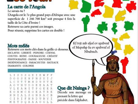Les solutions aux jeux du Bulles Angola !