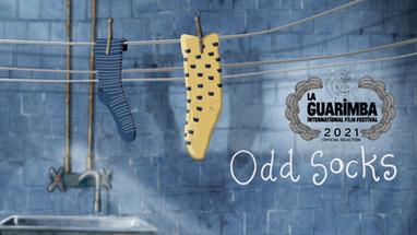 Odd socks till La Guarimba film festival!