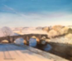 Dawn over Hyndford Bridge