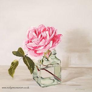 Jam jar Rose