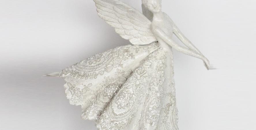 Snow Angel Fairy Wall Decor