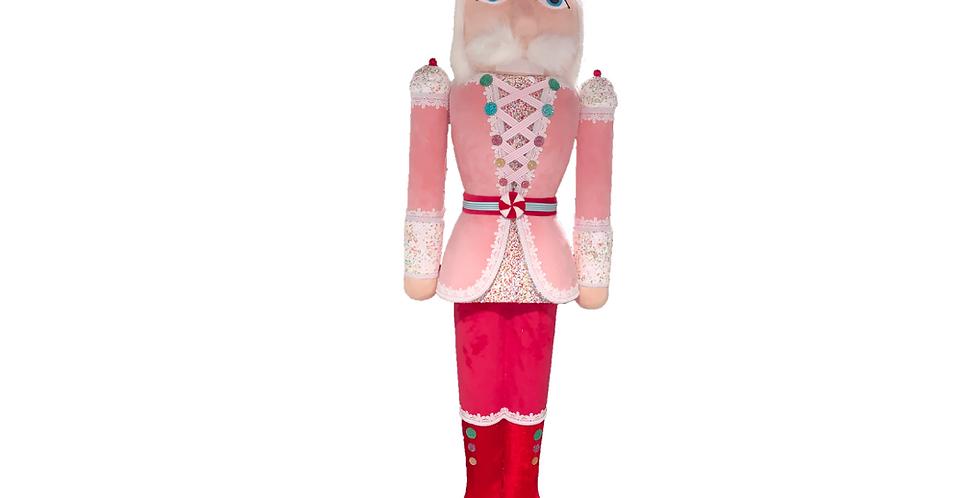 5 Foot Pink Candy Nutcracker