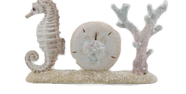 JOY Seahorse and Shell Tabletop Decor