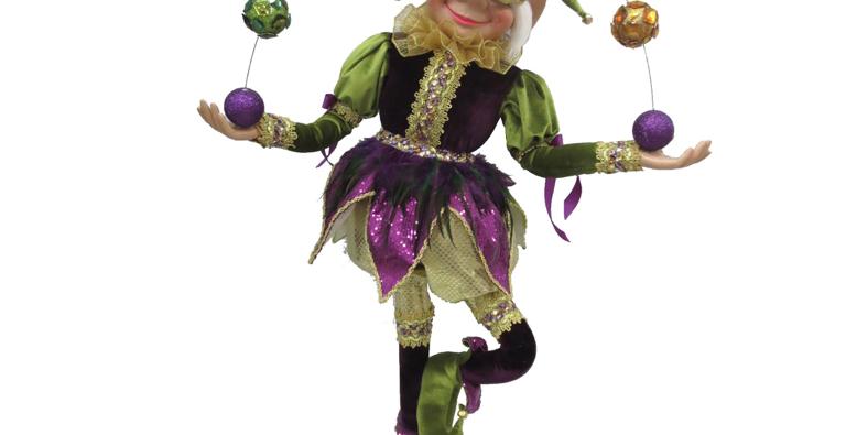 Mardi Gras Jester Display Decor