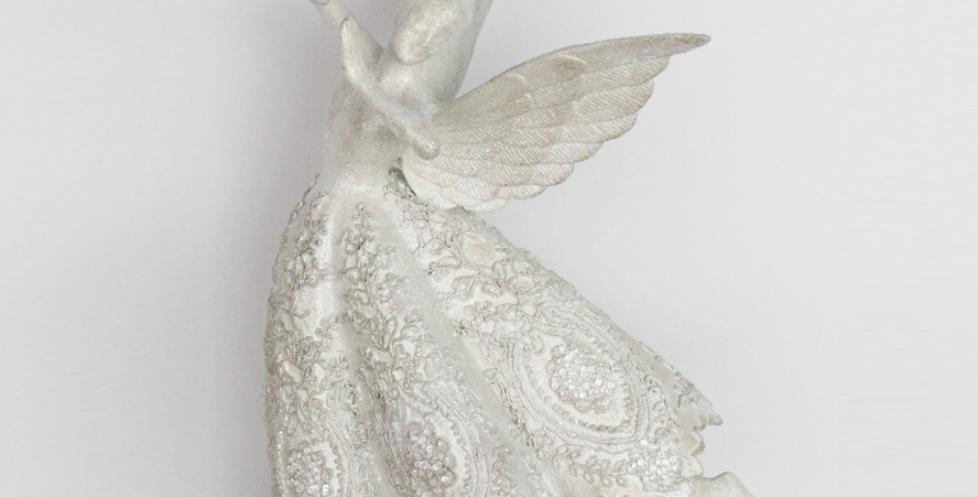 Snow Fairy Angel Wall Hanging