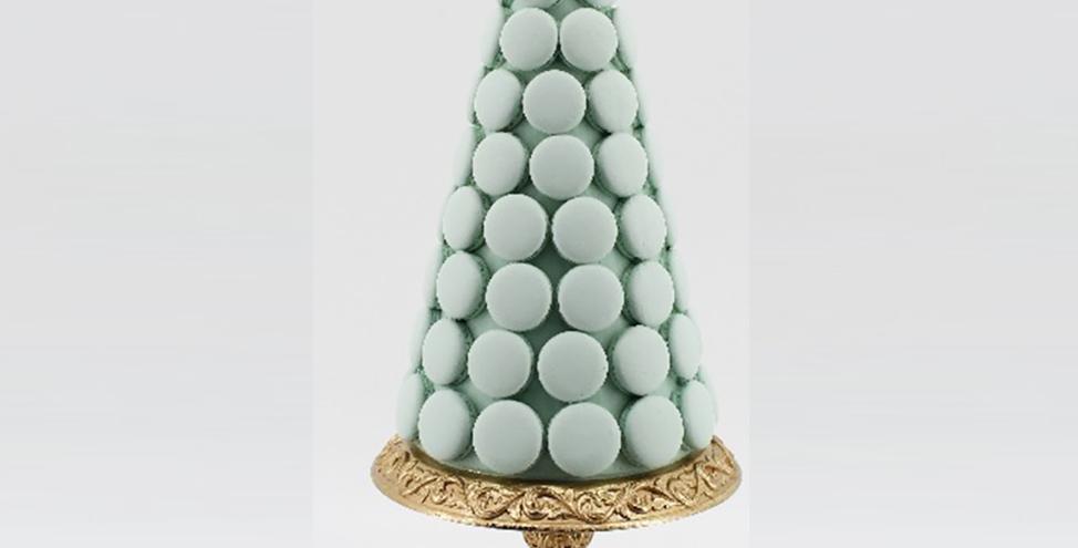 Mint Green Macaron Dessert Tree Decor