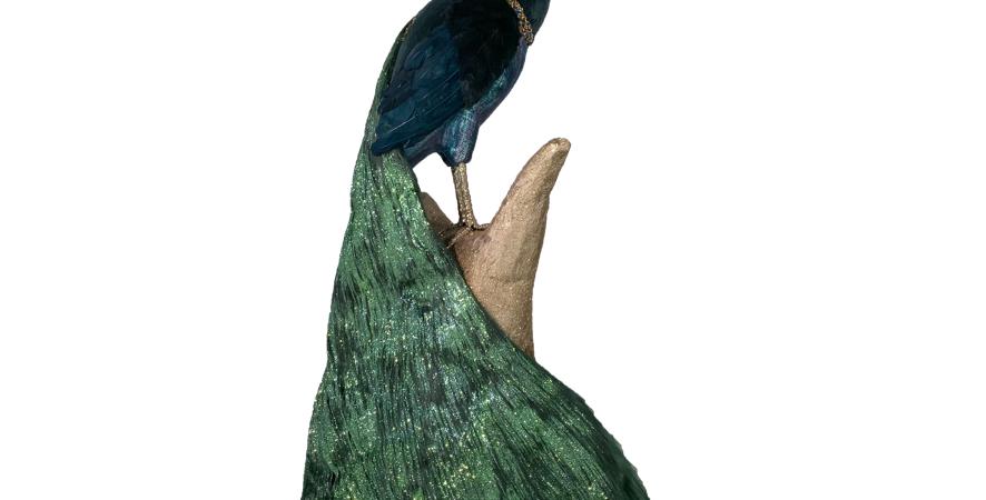 Lush Peacock on Base