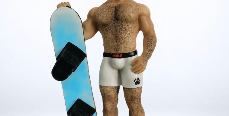 Snowboard Bear