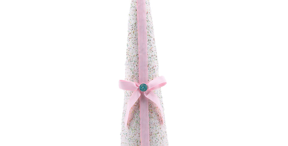 Candy Styrofoam Tree w/Ribbon Decor