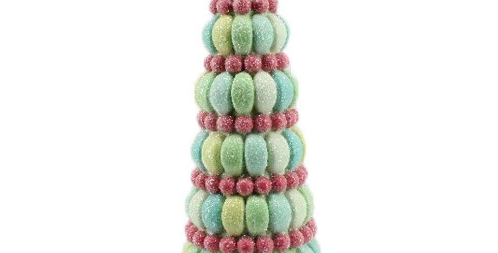 Candy Dessert Decorative Tree on Blue Stand
