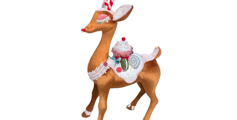 Standing Candy Reindeer Decor